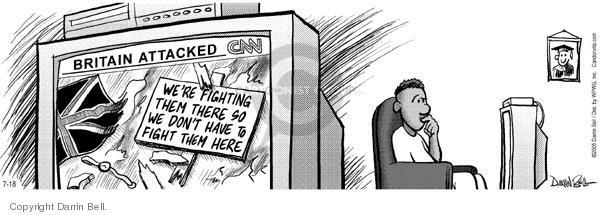 Comic Strip Darrin Bell  Candorville 2005-07-18 refute