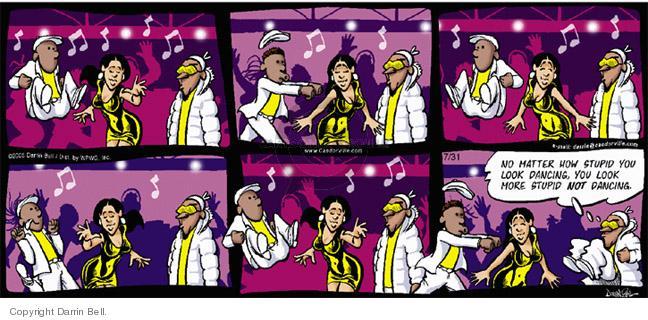 Comic Strip Darrin Bell  Candorville 2005-07-31 more