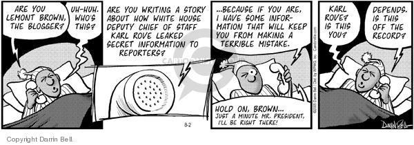 Comic Strip Darrin Bell  Candorville 2005-08-02 civil rights