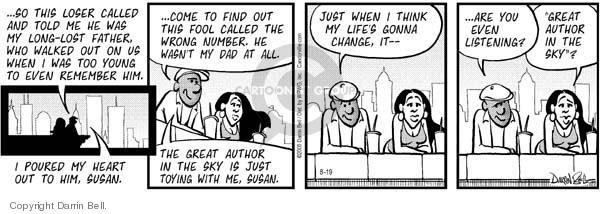 Comic Strip Darrin Bell  Candorville 2005-08-19 communication
