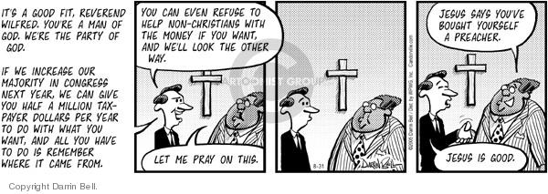 Comic Strip Darrin Bell  Candorville 2005-08-31 civil rights
