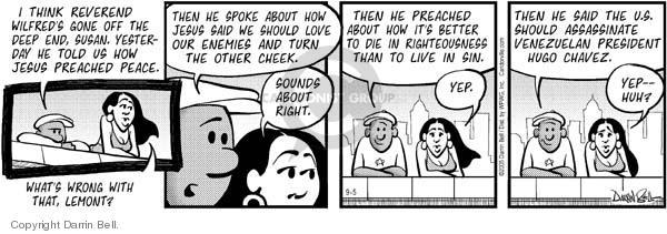 Comic Strip Darrin Bell  Candorville 2005-09-05 love