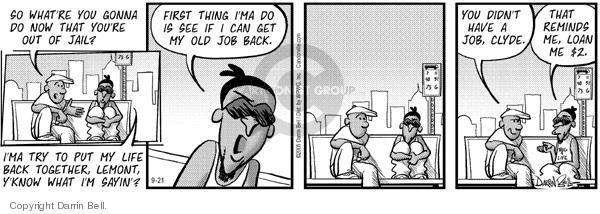 Comic Strip Darrin Bell  Candorville 2005-09-21 put together