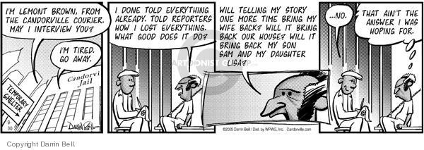 Comic Strip Darrin Bell  Candorville 2005-09-30 bring