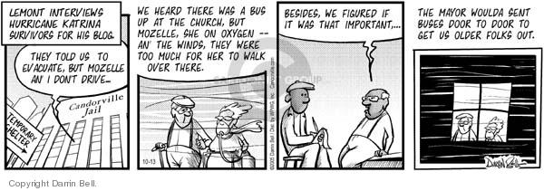 Comic Strip Darrin Bell  Candorville 2005-10-13 wind