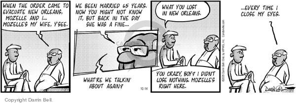 Comic Strip Darrin Bell  Candorville 2005-10-14 love