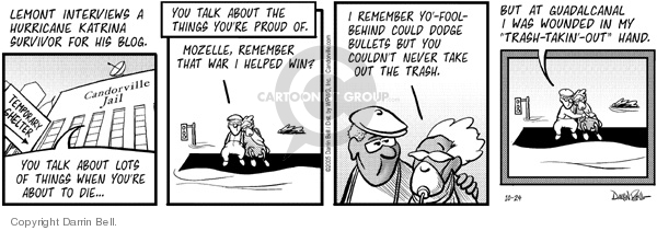 Comic Strip Darrin Bell  Candorville 2005-10-24 end-of-life