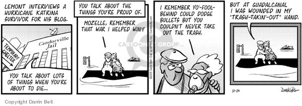 Comic Strip Darrin Bell  Candorville 2005-10-24 die