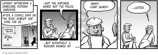Comic Strip Darrin Bell  Candorville 2005-10-25 army