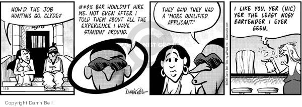 Comic Strip Darrin Bell  Candorville 2005-11-09 capability