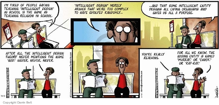 Comic Strip Darrin Bell  Candorville 2005-11-13 civil rights
