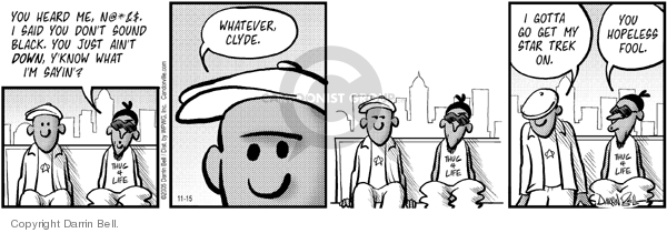 Comic Strip Darrin Bell  Candorville 2005-11-15 hopeless