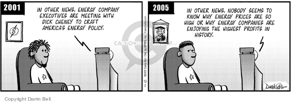 Comic Strip Darrin Bell  Candorville 2005-12-02 Dick Cheney