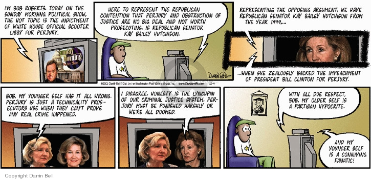 Comic Strip Darrin Bell  Candorville 2005-12-04 impeachment