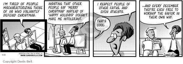 Comic Strip Darrin Bell  Candorville 2005-12-26 civil rights