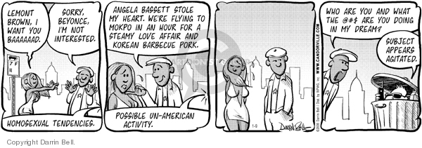 Comic Strip Darrin Bell  Candorville 2006-01-09 pork