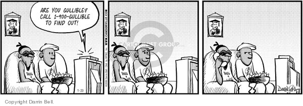 Comic Strip Darrin Bell  Candorville 2006-01-23 phone