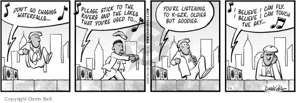 Comic Strip Darrin Bell  Candorville 2006-02-04 genre