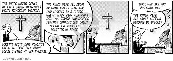 Comic Strip Darrin Bell  Candorville 2006-02-22 first amendment