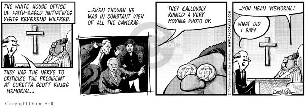 Comic Strip Darrin Bell  Candorville 2006-02-23 initiative