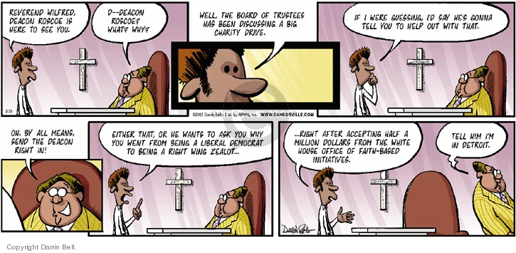 Comic Strip Darrin Bell  Candorville 2006-02-26 civil rights
