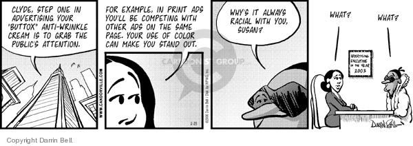 Comic Strip Darrin Bell  Candorville 2006-02-28 color
