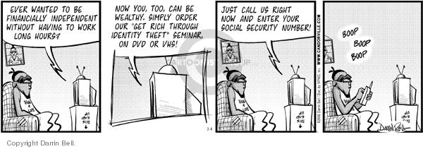 Comic Strip Darrin Bell  Candorville 2006-03-04 call