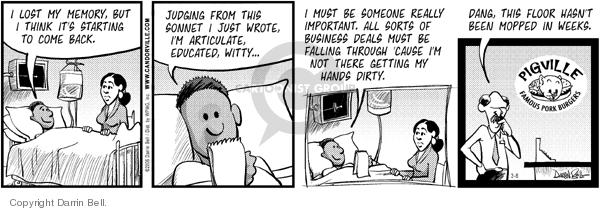 Comic Strip Darrin Bell  Candorville 2006-03-08 dirty