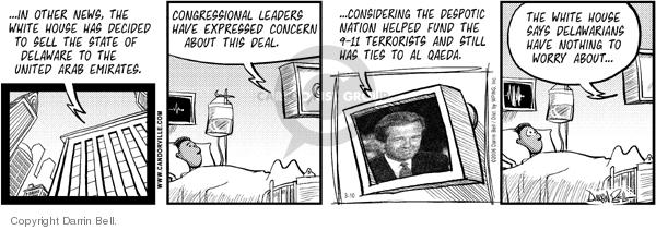 Comic Strip Darrin Bell  Candorville 2006-03-10 homeland