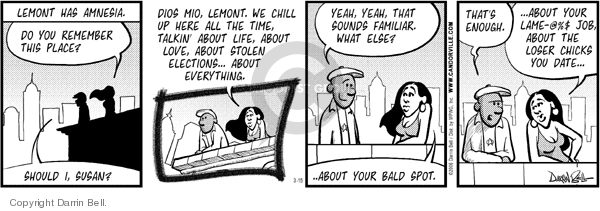 Comic Strip Darrin Bell  Candorville 2006-03-15 election
