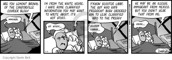 Comic Strip Darrin Bell  Candorville 2006-04-18 immigration reform