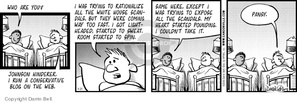 Comic Strip Darrin Bell  Candorville 2006-04-25 fast