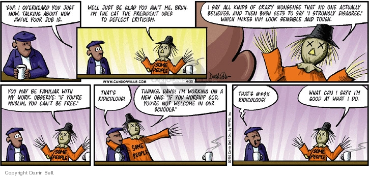 Comic Strip Darrin Bell  Candorville 2006-04-30 civil rights