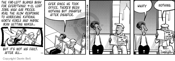 Comic Strip Darrin Bell  Candorville 2006-05-04 culture war