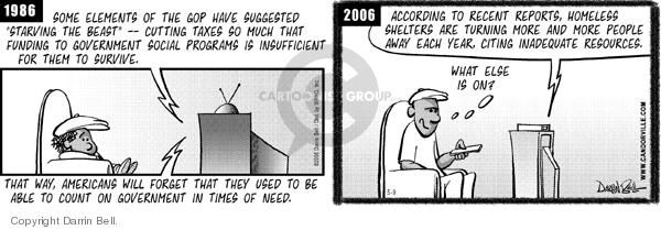Comic Strip Darrin Bell  Candorville 2006-05-09 cutting
