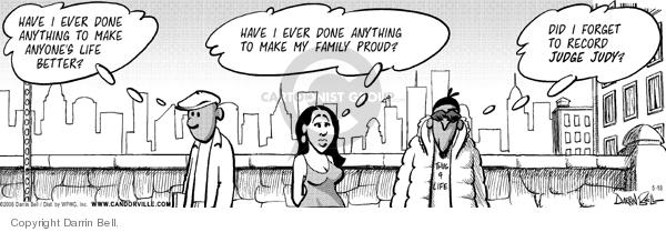 Cartoonist Darrin Bell  Candorville 2006-05-18 show