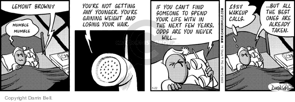 Comic Strip Darrin Bell  Candorville 2006-05-22 reality