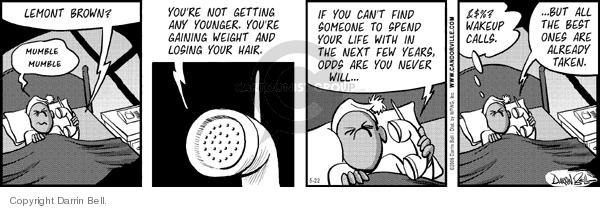 Comic Strip Darrin Bell  Candorville 2006-05-22 anybody