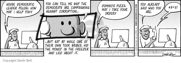 Comic Strip Darrin Bell  Candorville 2006-06-08 special interest