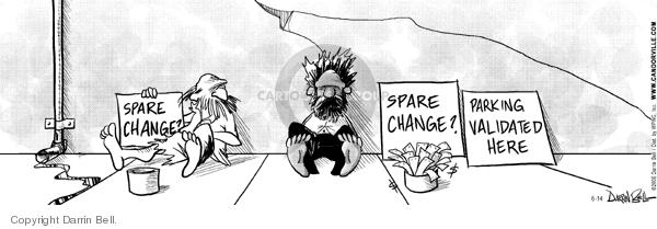 Comic Strip Darrin Bell  Candorville 2006-06-14 investment