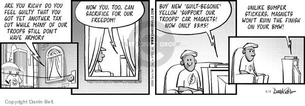 Comic Strip Darrin Bell  Candorville 2006-06-15 tax