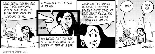 Comic Strip Darrin Bell  Candorville 2006-06-20 post