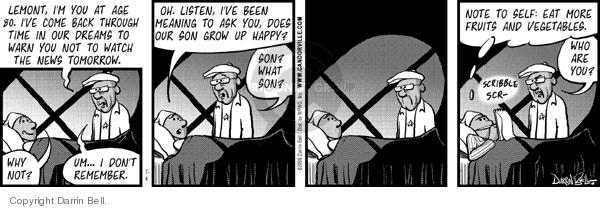 Comic Strip Darrin Bell  Candorville 2006-07-04 eighty