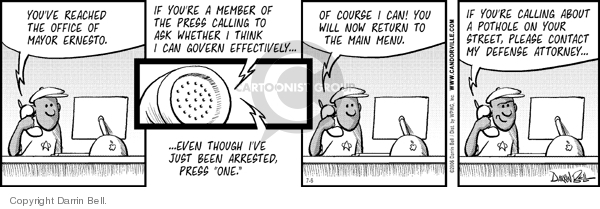Comic Strip Darrin Bell  Candorville 2006-07-06 maintenance