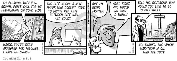 Comic Strip Darrin Bell  Candorville 2006-07-07 yeah