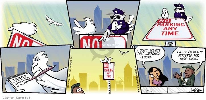 Comic Strip Darrin Bell  Candorville 2006-07-16 laws