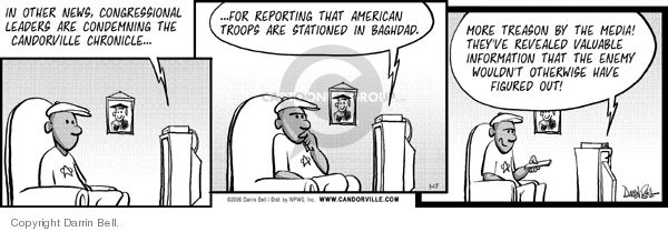 Comic Strip Darrin Bell  Candorville 2006-07-17 freedom of the press