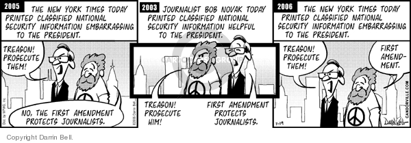 Comic Strip Darrin Bell  Candorville 2006-07-19 national security