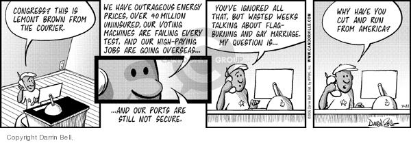 Comic Strip Darrin Bell  Candorville 2006-07-21 fuel