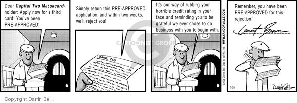 Comic Strip Darrin Bell  Candorville 2006-07-28 apply